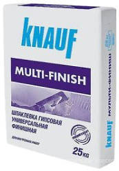 Шпаклевка мультифиниш Knauf 25кг