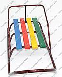 """Сани """"Классик""""БЕЗ РУЧКИ/ Детские санки изготовлены из стальной трубы, сидение – деревянная планка. Санки с пло, фото 8"""