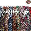 Белый павлопосадский шерстяной платок Восточная сказка, фото 4
