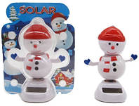 """Игрушка на солнечных батареях """"Танцующий Снеговик"""""""