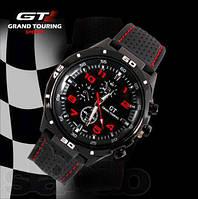 Часы спортивные gran touring f1, японского производства, устойчивый к ударам корпус, мужские часы