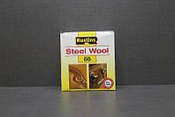 Стальная шерсть, вата ,00, Steel Wool, 150 грамм, Rustins