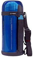 Термос ZOJIRUSHI SF-CС15AН 1,5L синий (складная ручка+ремешок)