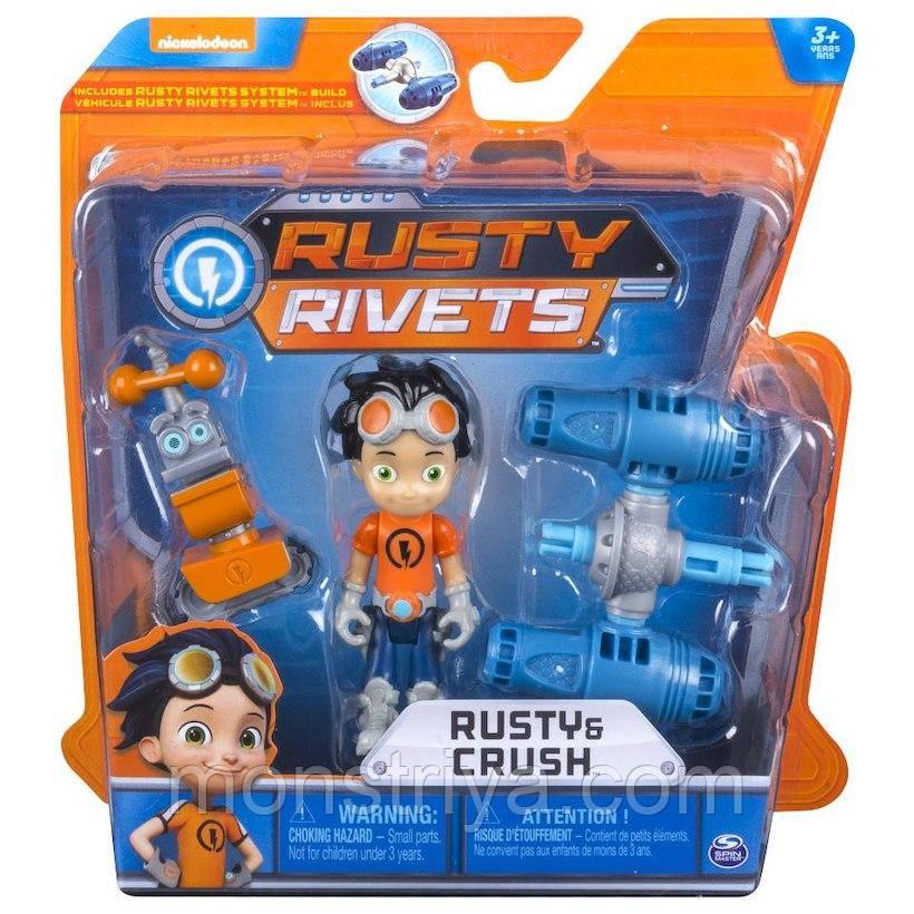 Расти- Механик Игровой набор Маленький инженер мини-конструктор Rusty Rivets-Ржавые заклепки, Spin Master