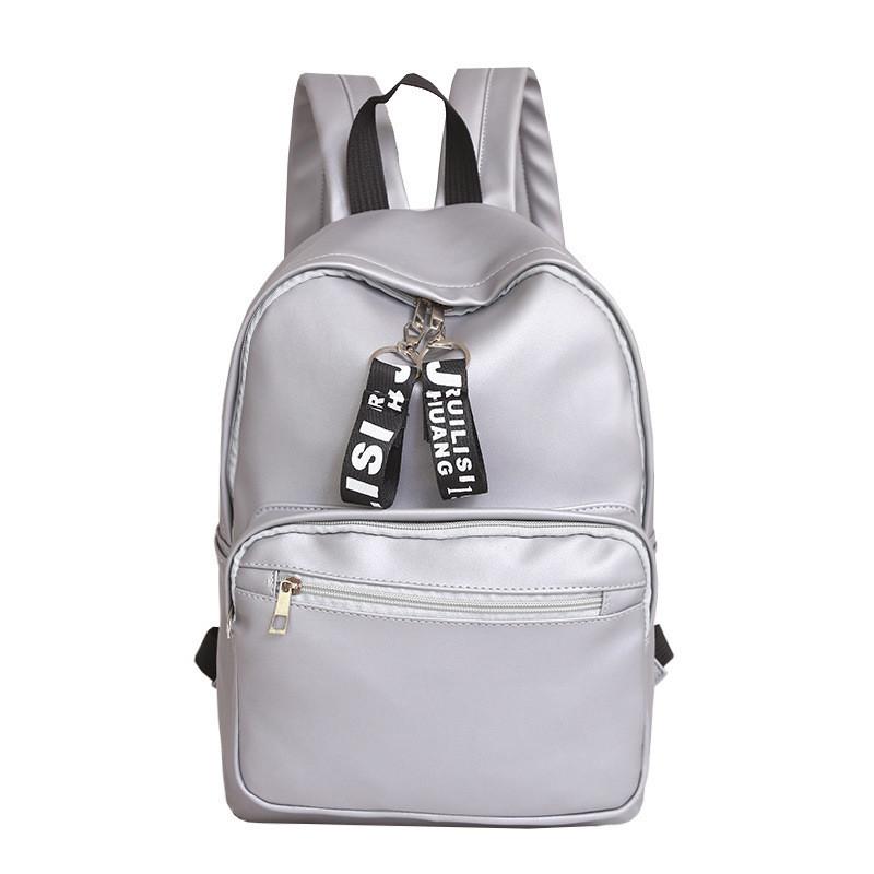 c16c7947ab48 Женский рюкзак экокожа цвет серебро большой, цена 477 грн., купить в ...