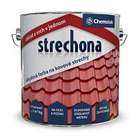 "Краска Strechona ""Chemolak"" кирпичный 5,0 кг.."
