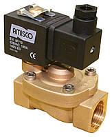 """Клапан электромагнитный GEVAX нормально закрытый внутр. резьба Ø 1/2"""", EPDM (-10°C +140°C)"""
