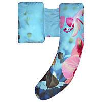 Подушка для беременных Delux цвет Орхидеи