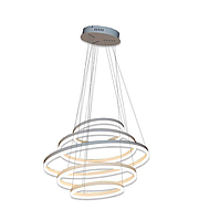 Светодиодная Люстра LED 140Вт (5 колец), фото 1