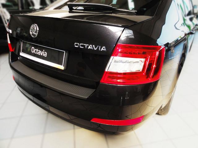 N-0037 Rear bumper protector Skoda Octavia III A7 2013>