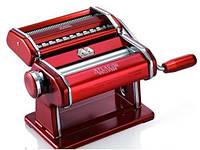 Машинка для раскатки теста + лапшерезка Marcato Atlas 150 Rosso, фото 1