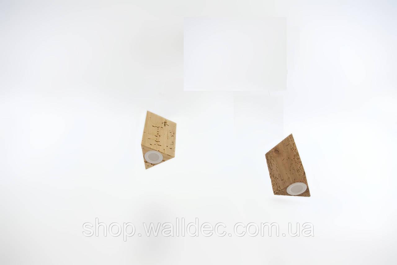 Светильник деревянный потолочный Trion 6