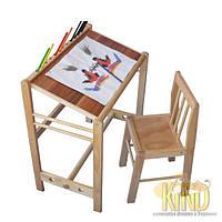 Стол детский для творчества КИНД  МУКС С 109 (60 х 37 см, береза)