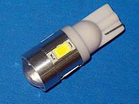 Автосветодиод T10-WG-5SMD-5630+3020