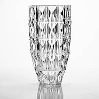 "Ваза стеклянная BOHEMIA 25 см ""Diamond""  7609 (8KG31/99T41/255)"