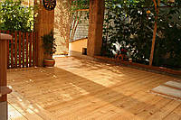 Террасная доска лиственница сибирская, толщина 30мм, сорт АВ