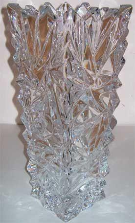 """Ваза BOHEMIA """"Лед"""" 1704 (30,5 см)"""