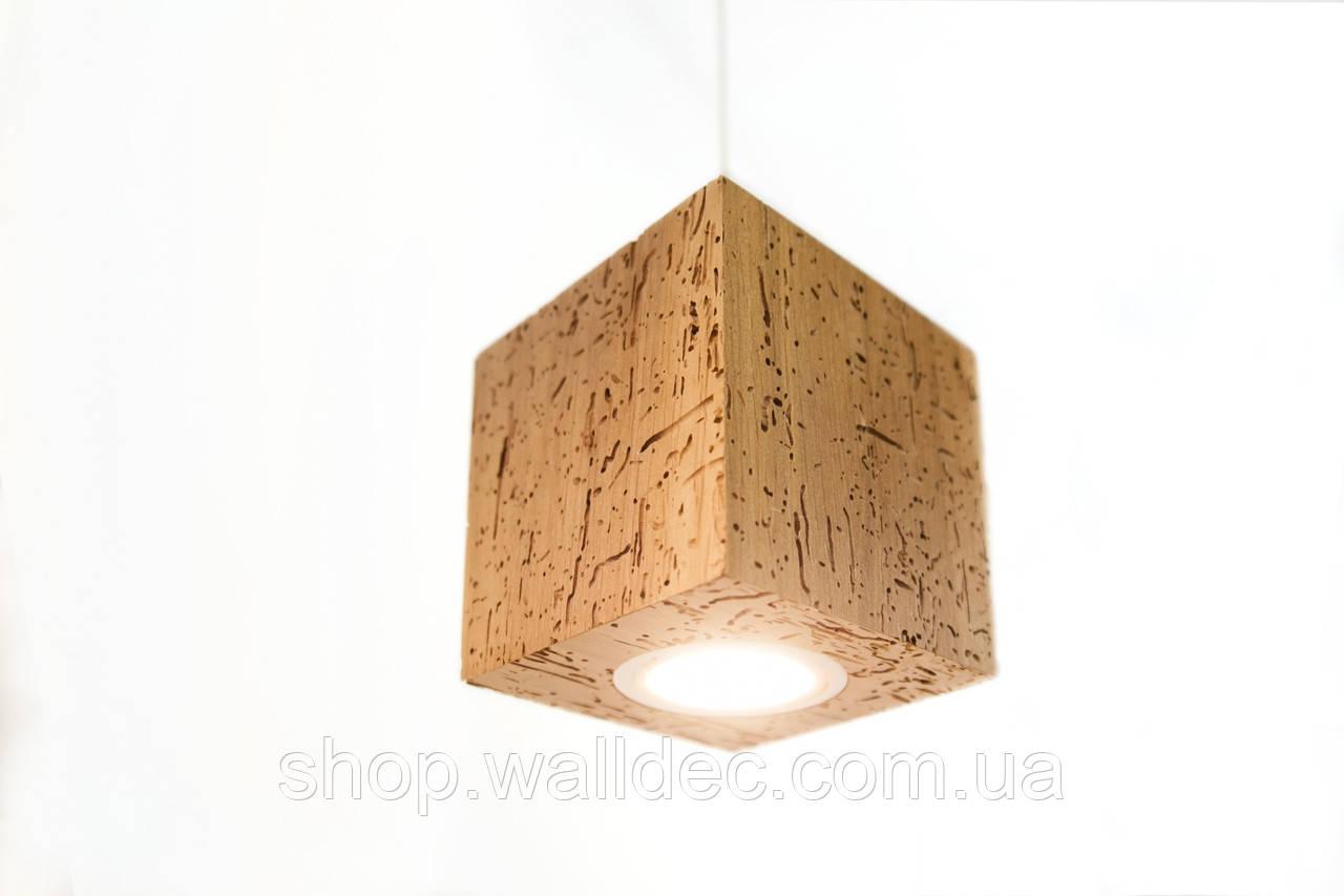 Светильник деревянный потолочный Rubicon 6