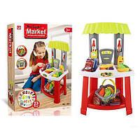 Игровой набор Супермаркет 1522: корзинка + продукты + 23 предмета
