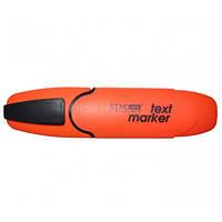 Маркер текстовый, оранжевый Economix Е11001-06