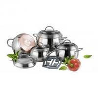 Набор индукционной посуды (9 пр.) Vinzer Majestic Optima 89041, фото 1