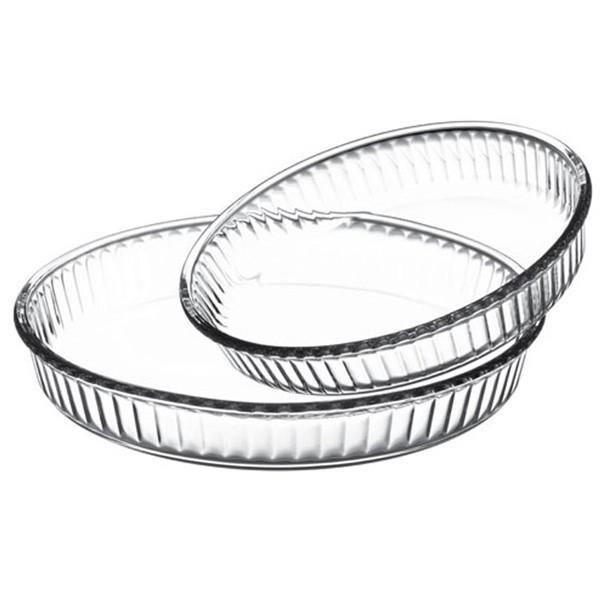 Набор форм для запекания, стекло BORCAM (2 шт)