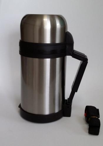 Термос  Con Brio СВ-326 0,8 л с чашечкой