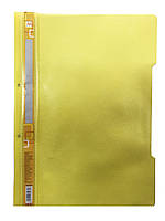 Скоросшиватель для файлов А4 (желтый)