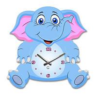 Часы Настенные Детские Elephant (Glozis)