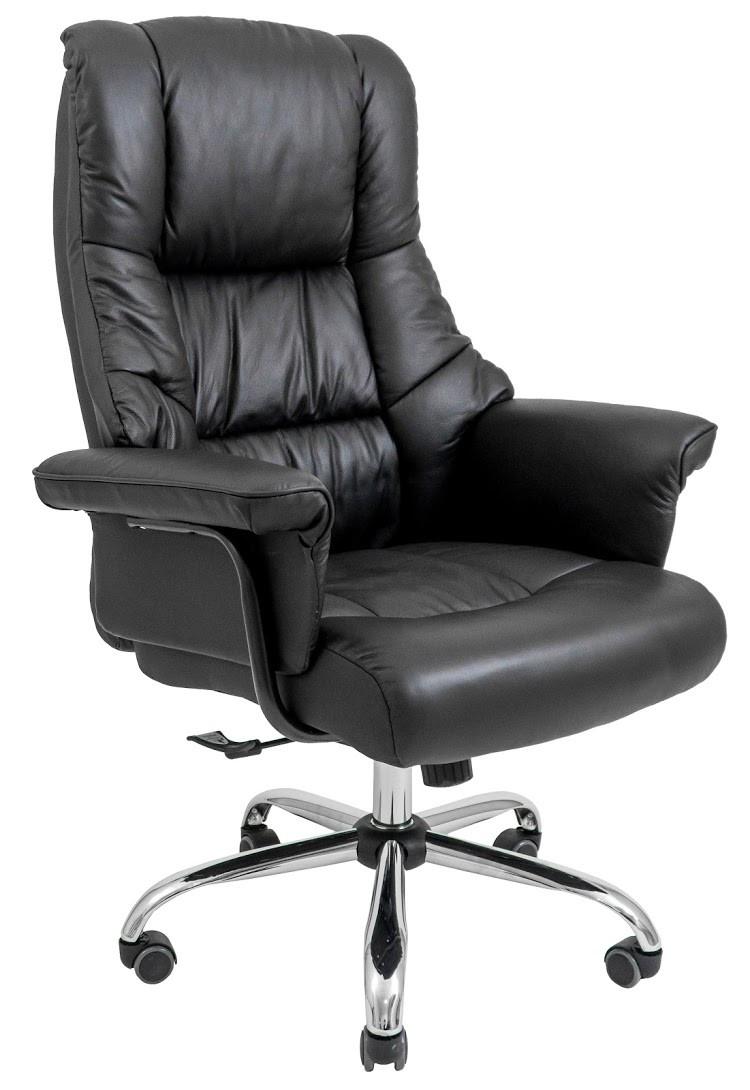 Компьютерное Кресло Конгресс (Хром) черное