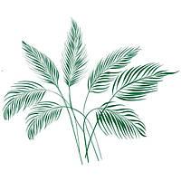 Виниловая Наклейка Glozis Palm Leaves