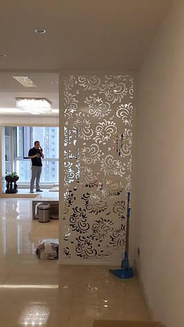 Перегородка белая в коридор, фото 2