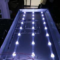 """4708-K320WD-A2213K01LED светодиодная линейка планка подсветки LCD 32"""", 618мм, 8 светодиодов"""