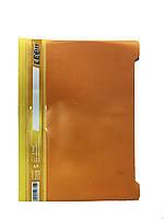 Скоросшиватель для файлов А5 (оранжевый)