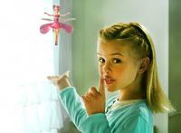 Летающая фея flying fairy , порхающая игрушка, с сенсорными датчиками наличия препятствия, цветные пропеллеры