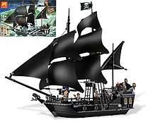 Конструктор Lele Pirates 39009 Черная Жемчужина, 840 дет