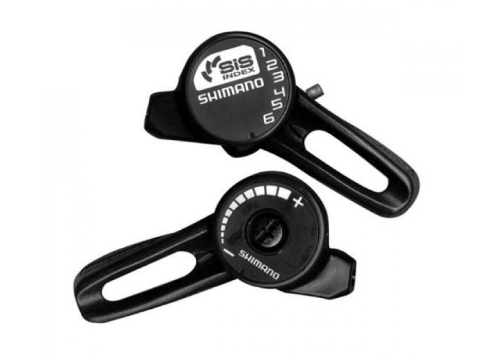 Манетки Shimano Tourney SL-TZ20 SIS, пара 3+6 скоростей +тросики