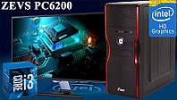 Современный Игровой ПК ZEVS PC 6200 i3 7100 8GB 1TB
