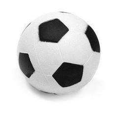 Мячик для метания футбольный