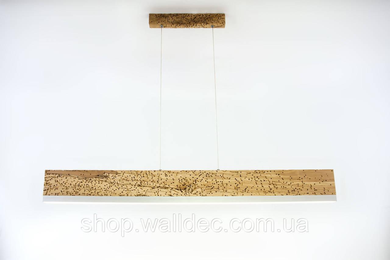 Светильник деревянный подвесной Planc 1000