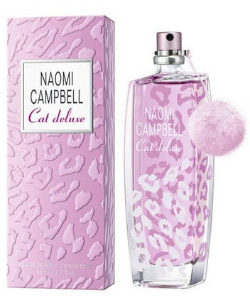 Naomi Campbell Cat Deluxe туалетная вода 75 ml. (Наоми Кэмбелл Кет Делюкс), фото 2