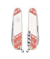 Складной нож Victorinox SPARTAN UKRAINE Вышиванка Vx13603.7R5