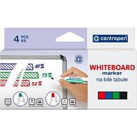 Набор маркеров для сухостираемых досок  Centropen Board 8559 4 шт.