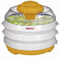 Сушка для овощей и фруктов Saturn ST-FP0112оранжево-белая