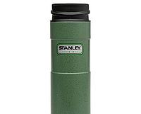 Кружка термо STANLEY зеленая 0,47 Classic ST-10-01394-013