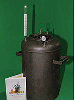 Автоклав бытовой электрический РБ Электро 21 (черная сталь 4 мм/ 21 банка 0,5)