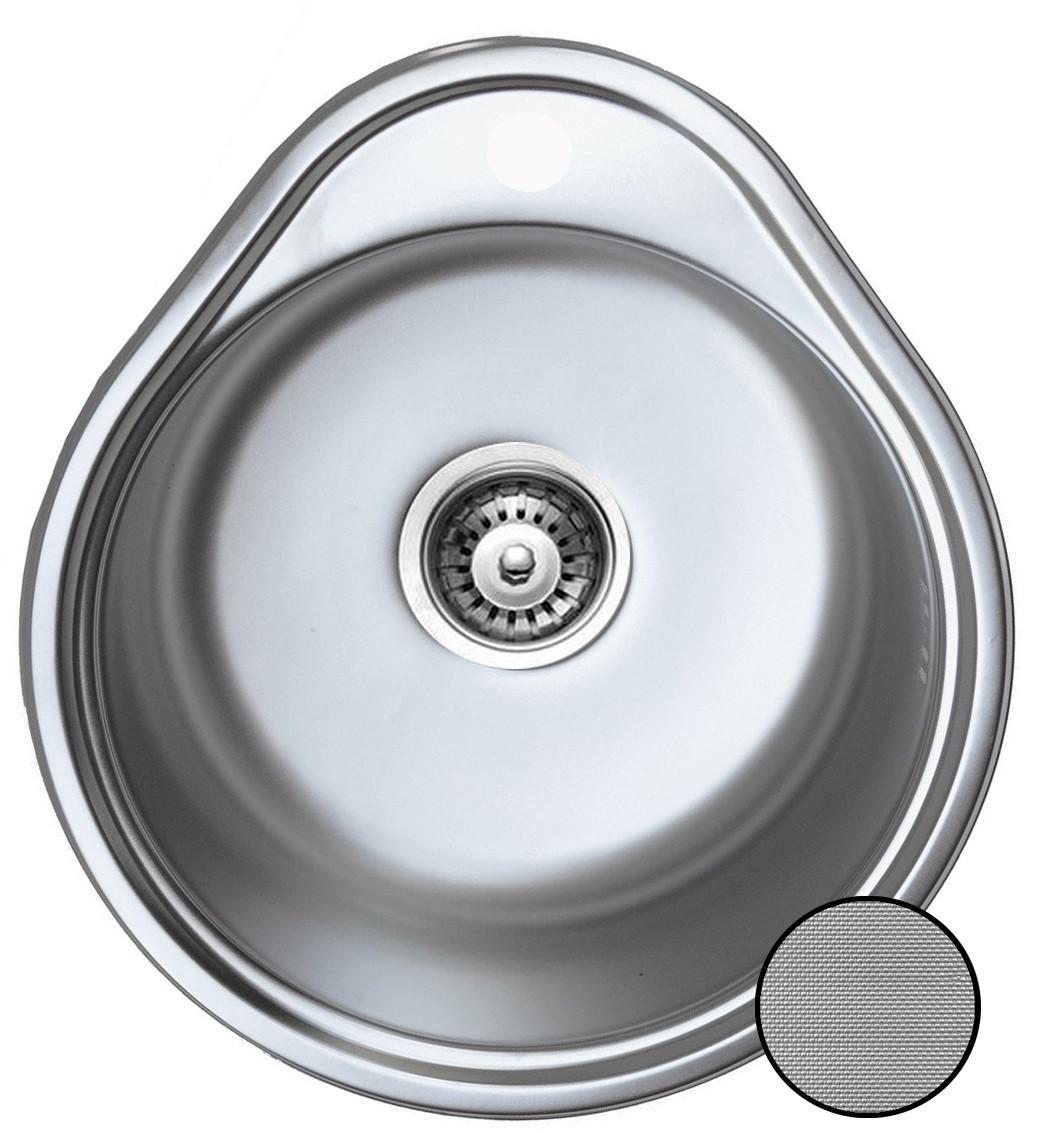 Кухонная стальная мойка (Eko) Galati  Lala  Textură