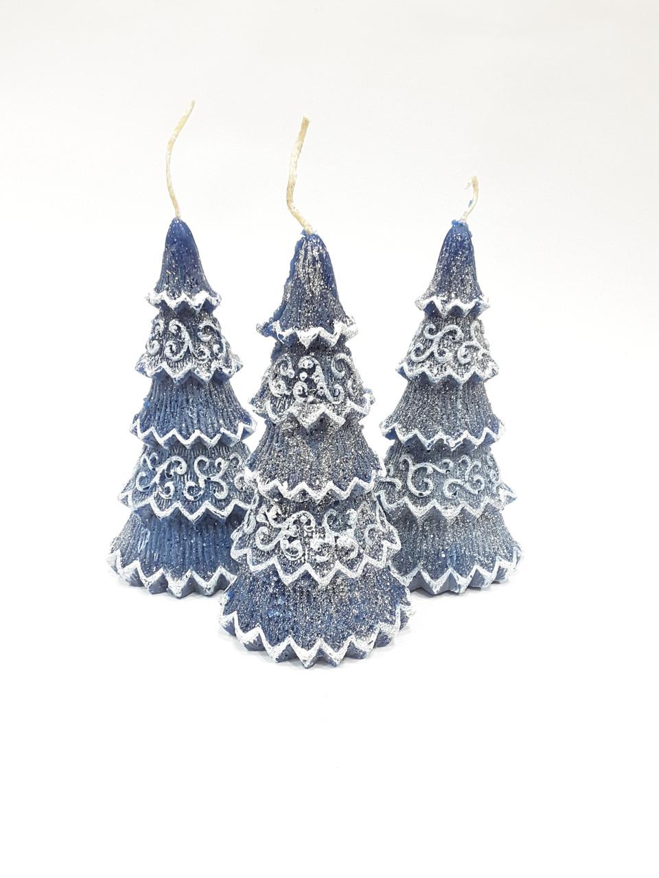 Свеча сувенирная Новогодняя елка