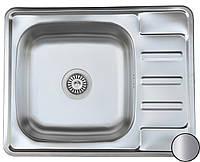 Кухонная стальная мойка (63*50*18 cм) Galati Douro Satin 7175 , фото 1