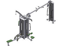 Блочная рамка (кроссовер) четырёхпозиционная (подвижный блок) ТК 211
